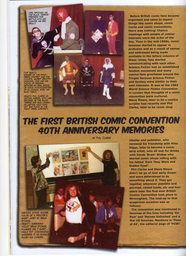 first uk comic con a115