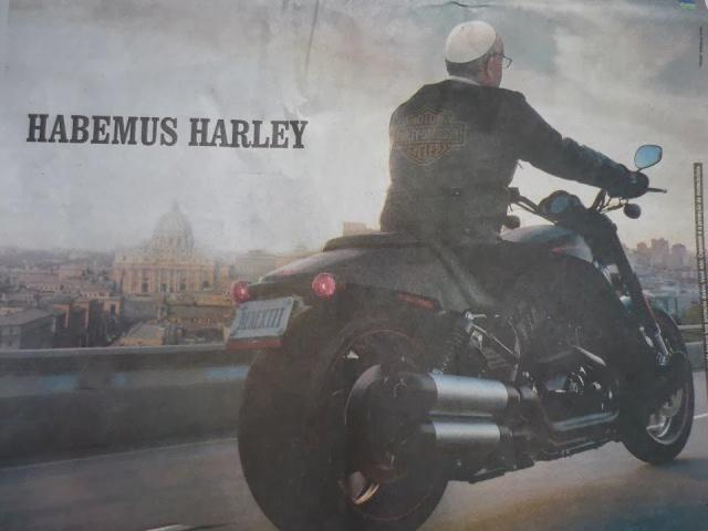pope's  bike Habemus Harley[1]
