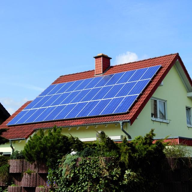 house-solar-panel