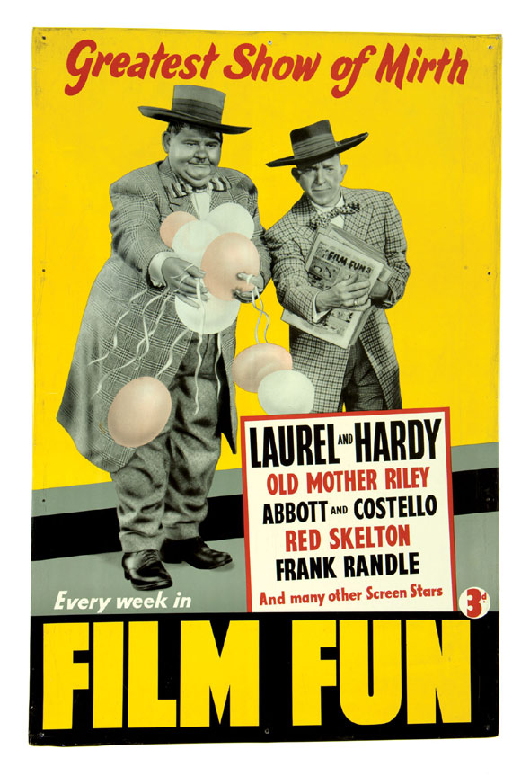 106 laurel and hardy's film fun