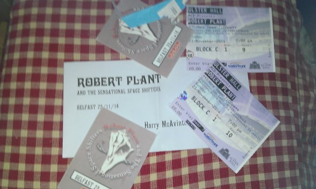 ROBERT PLANT  TICKETS
