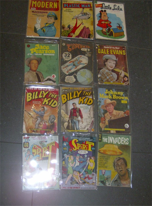 1940s to 1960s comics1