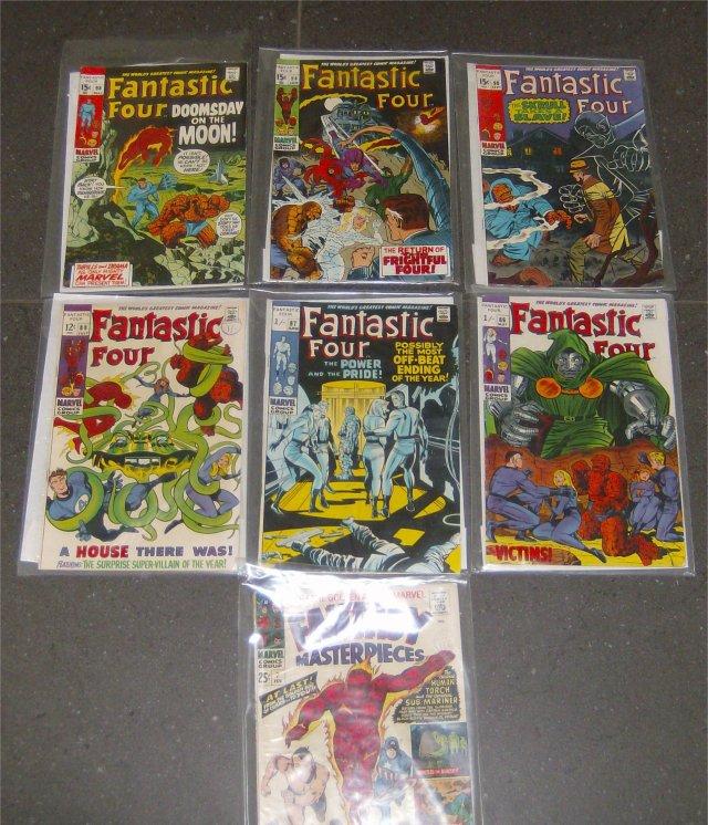 fantastic four plus fantasy masterpieces