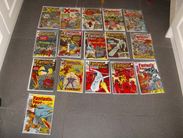 MARVEL COMICS 1960S ASSORTED
