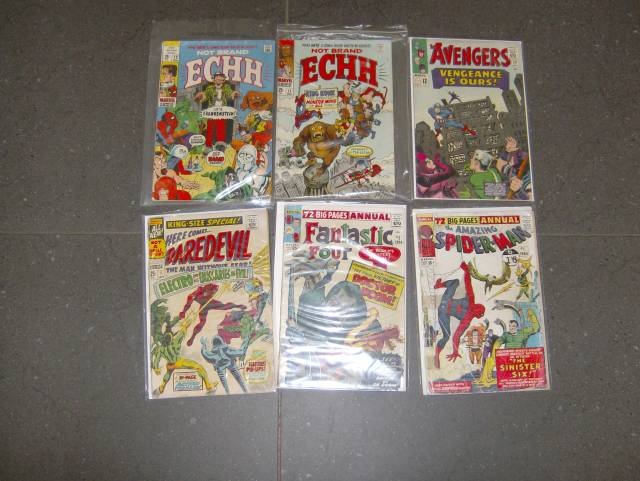 MARVEL COMICS ANNUALS 1960S PLUS
