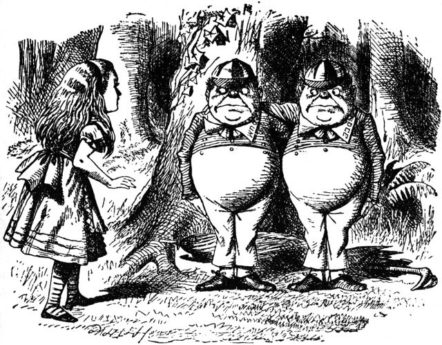 alice tweedledum