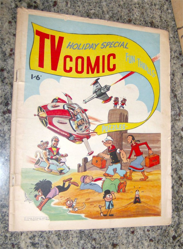 TV COMIC HOLIDAY SPECIAL