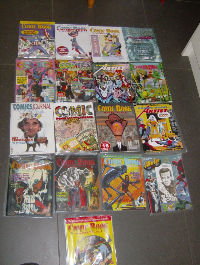 COMICS JOURNAL PLUS FANZINES