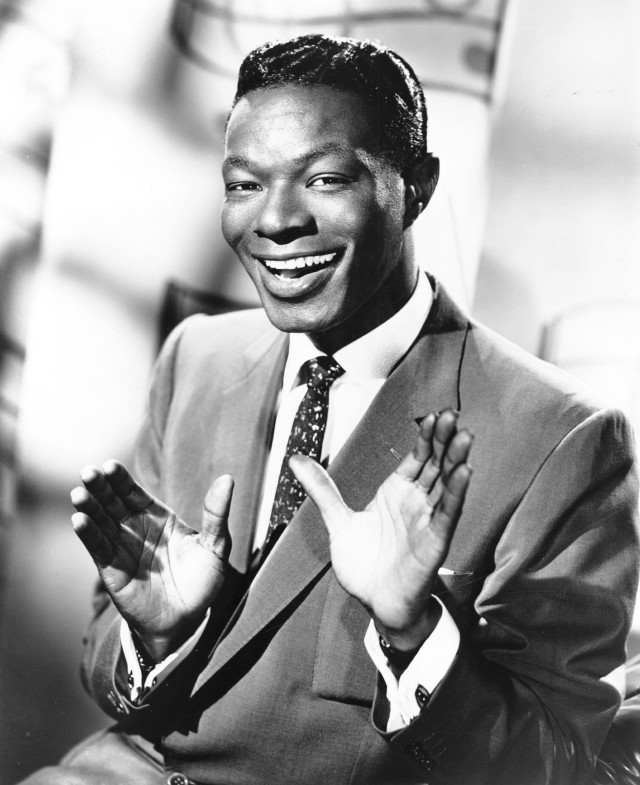 "CIRCA 1950: Entertainer Nat ""King"" Cole poses for a portrait in circa 1950. (Photo by Michael Ochs Archives/Getty Images)"