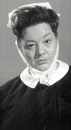 Hattie Jacques - Matron Carry on Doctor for gerry