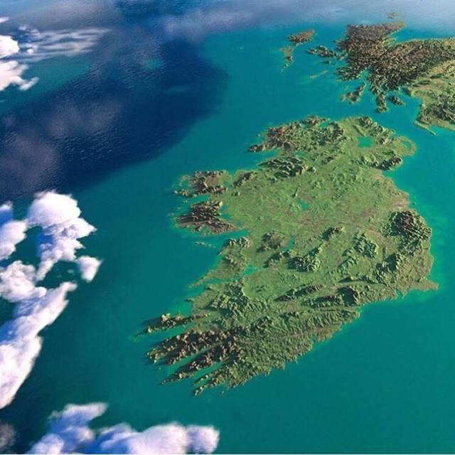 IRELAND ISLAND IDENTITY